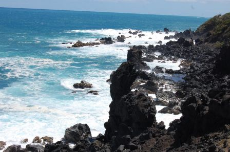 Saint Kitts - Black Rocks