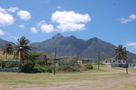 Saint Kitts - Mount Liamuiga