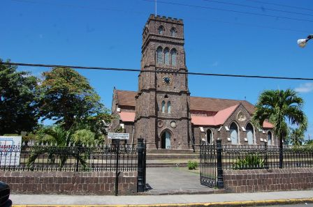 Saint Kitts - St George Anglican Church