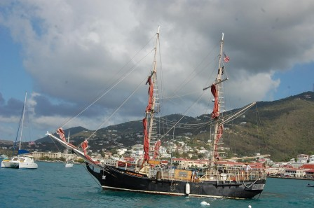 Saint Thomas - Charlotte Amalie - Bateau pirates 1