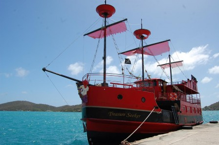 Saint Thomas - Charlotte Amalie - Bateau pirates